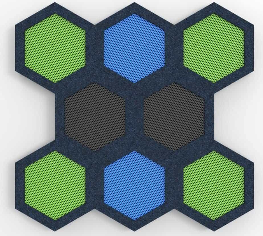 trampolina hexagon