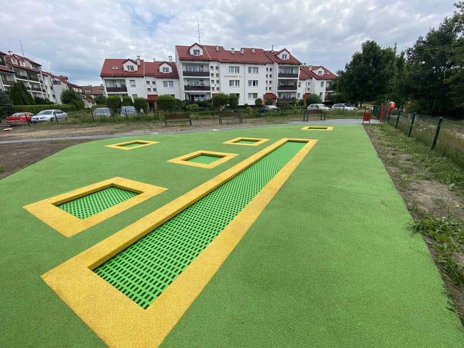 Najdłuższa trampolina ziemna Gdynia