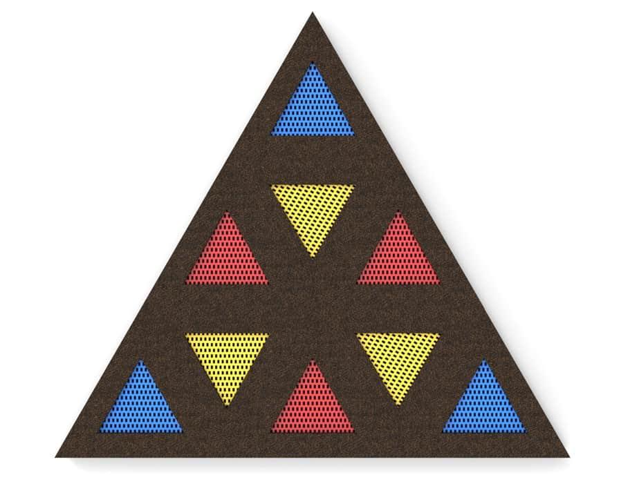 trampolina trójkątna